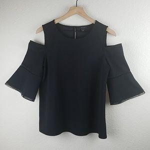 Ann Taylor Cold Shoulder Top | Size M